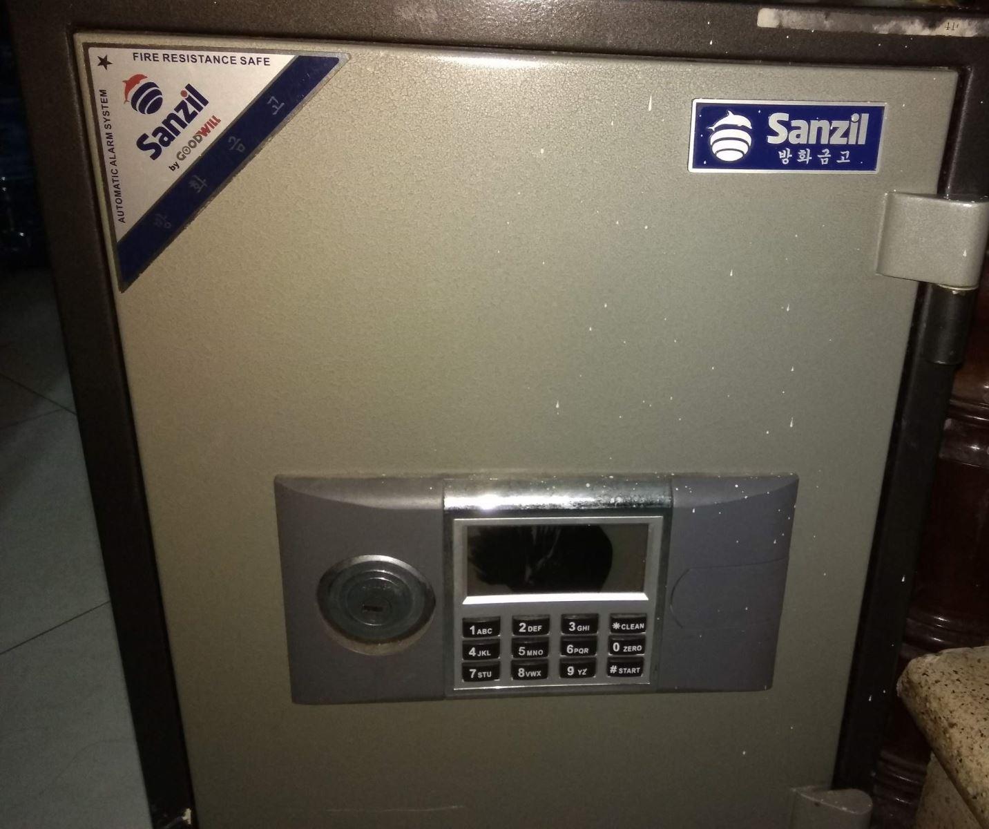 Tư vấn cách sử dụng két sắt Sanzil đơn giản, dễ hiểu nhất