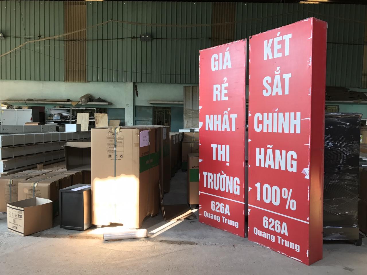 Địa chỉ bán két sắt tại Đà Nẵng uy tín, bảo hành tốt
