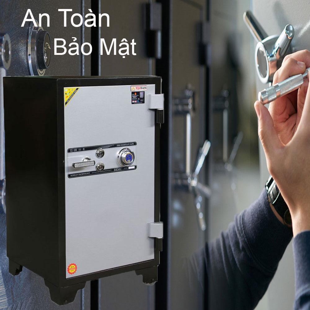 Những dòng sản phẩm két sắt được nhiều người tin dùng