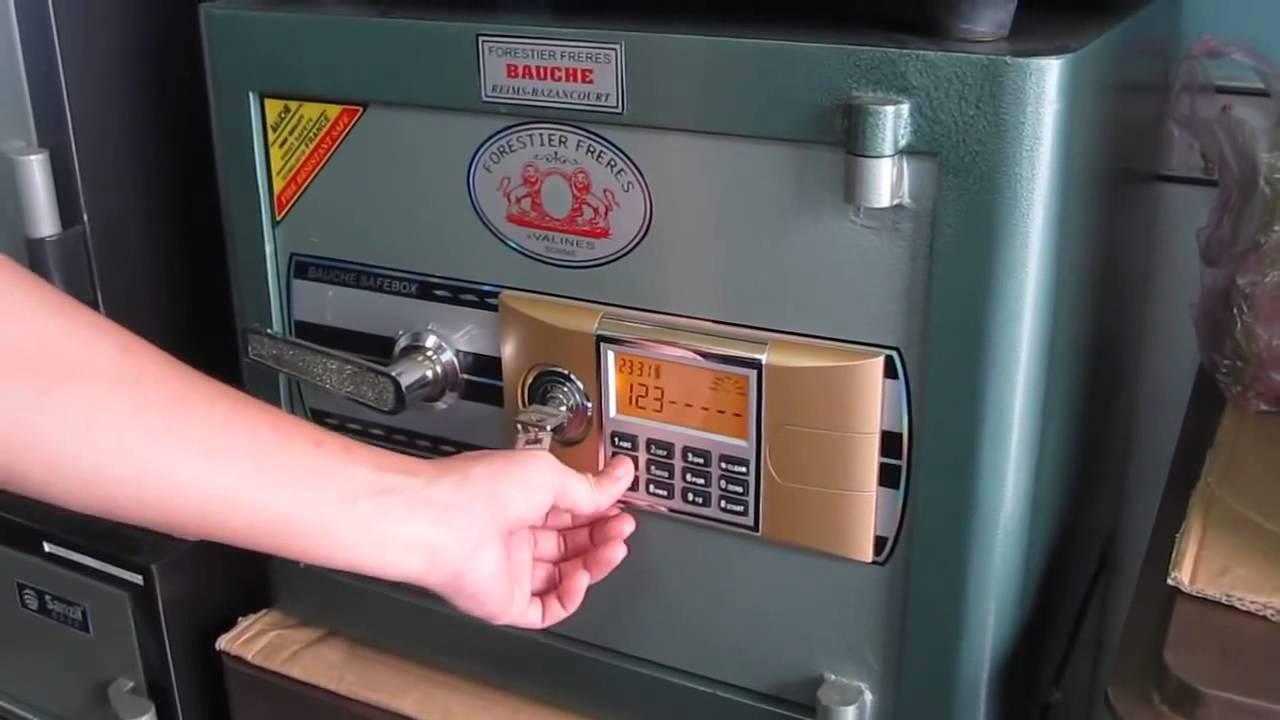 Tư vấn cách sử dụng két sắt Sanzil đơn giản, dễ hiểu nhất-6